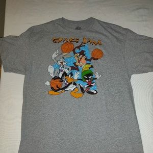Space Jam Looney Tunes Jordan cotton t-shirt